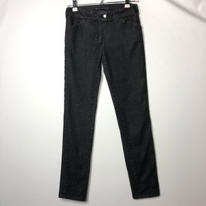 Balenciaga black denim pants